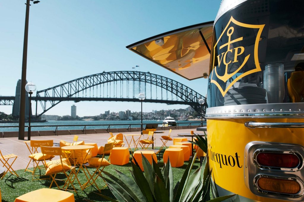 Veuve Cliquot Pop Up Bar Sydney Opera House