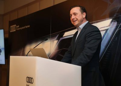 Speaker Audi A8 and S8 Media Launch