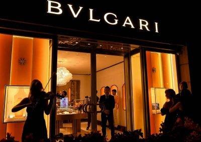 Bulgari Sydney Boutique Launch