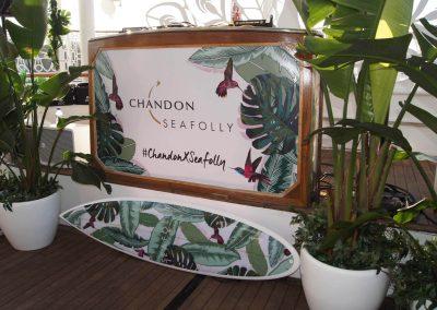 Chandon x Seafolly PR launch event