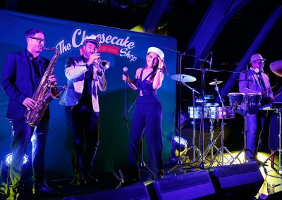 Band entertainment Cheesecake Shop Franchise Conference