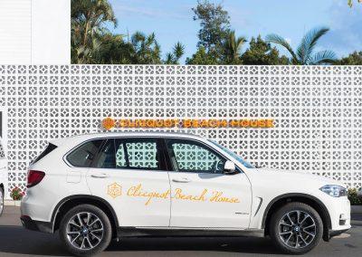 Car BMW Clicquot Beach House