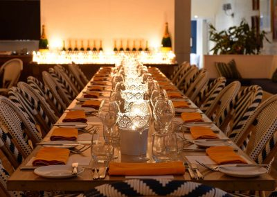Dining table set Clicquot Beach House