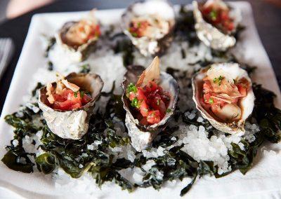 late oysters Clicquot Beach Hut at Bondi Beach event