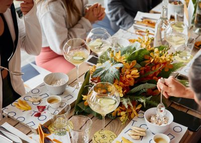 Brunch at the Clicquot Summer House
