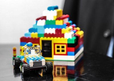 Lego display Credit Union Australia National Business Strategy