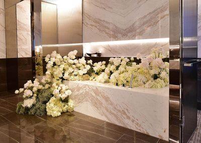 Flower arrangement Crown Resorts One Barangaroo launch