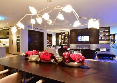Display apartment Crown Resorts One Barangaroo launch