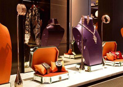 Jewellery display Crown Resorts One Barangaroo launch