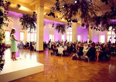Speaker guests table listening Crown Resorts Sydney Ladies Luncheon