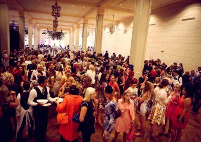 Guests talking Crown Resorts Sydney Ladies Luncheon