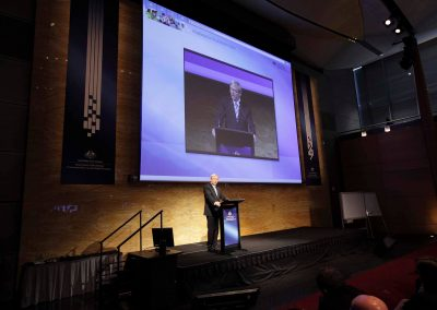 Former Prime Minister Kevin Rudd speaking at the Department of Broadband National Broadband Network Forum