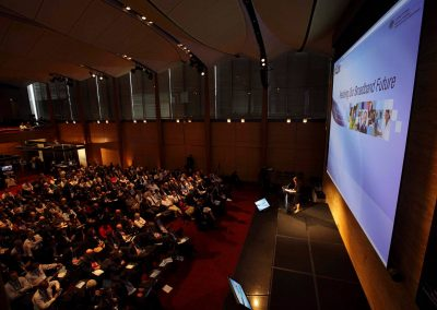 Stage and audience at the Department of Broadband National Broadband Network Forum