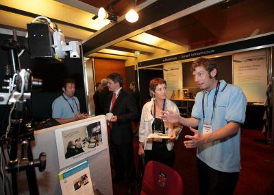 Exhibitors at the Department of Broadband National Broadband Network Forum