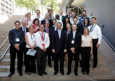 Group shot of participants at the Department of Broadband National Broadband Network Forum