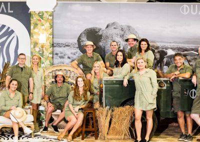 Dual Australia Exhibition Stand – Safari Glam