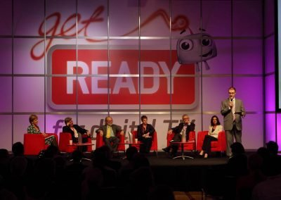Speaker panel Get Ready for Digital TV Switchover Conference
