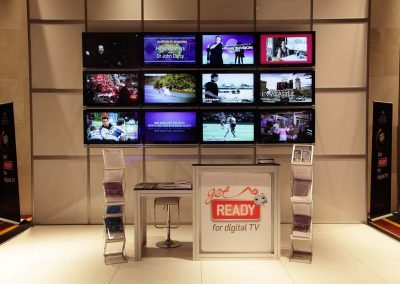 Display tv screens Get Ready for Digital TV Switchover Conference
