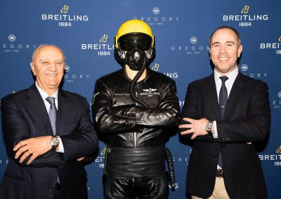Gregory Jewellers & Breitling VIP client dinner