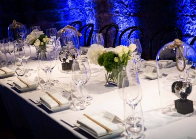 watches on dinner table Gregory Jewellers & Breitling VIP client dinner