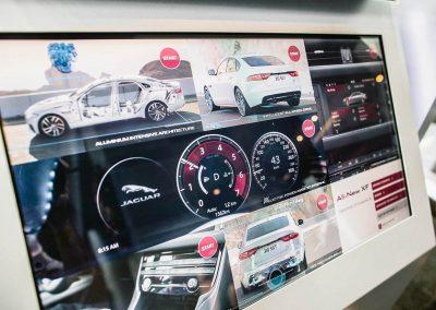 Advertising display Jaguar XF Australian Launch