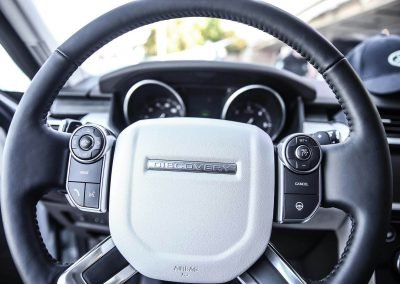 Steering wheel Land Rover All-New Discovery Launch