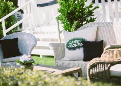 Sitting area Land Rover Polo Club for Polo in the City English Polo Garden