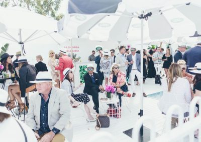 Guests at Land Rover Polo Club for Polo in the City Miami