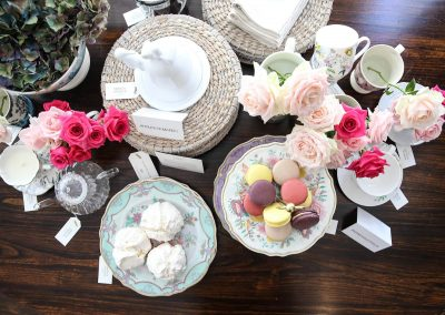 Tea cups plates sweets Marks & Spencer Australian Online Store launch