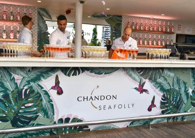Chandon and Seafolly event Pop Up bar