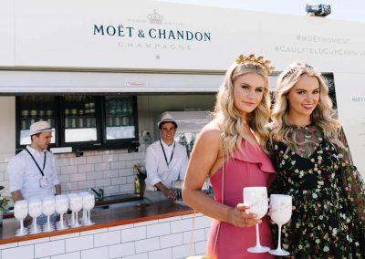 Moët & Chandon Lawn at Melbourne Racing Club