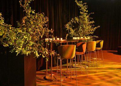Interior venue decor at the Paspaley Megisti Collection launch
