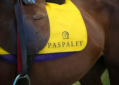Close up horse saddle Paspaley Polo in the City Series Australia