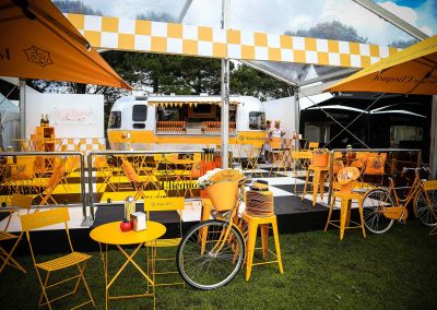pop up bar Paspaley Polo in the City Series Australia