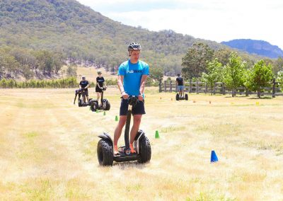 Guests on Segway outdoors Pubmatic Ad Revenue Wolgan Valley Conference