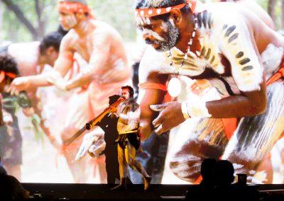 Aboriginal entertainer Schlumberger Annual International Conference