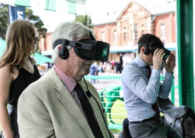 Guests VR racing TAB Virtual Reality Activation - Saddle Up with TAB
