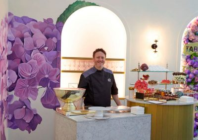 Patisserie Chef at the Tabcorp Birdcage Marquee