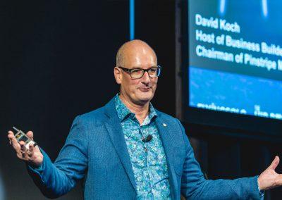 David Koch speaking at Snap Printing Vision Kick Off