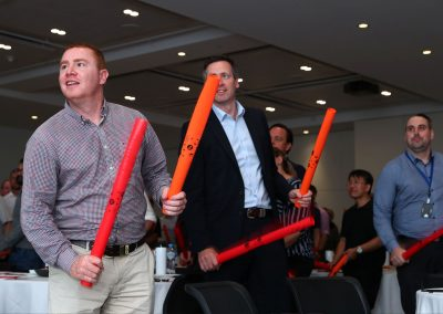 Guests bonding exercise Tabcorp Our Big Moment Employee Engagement Event